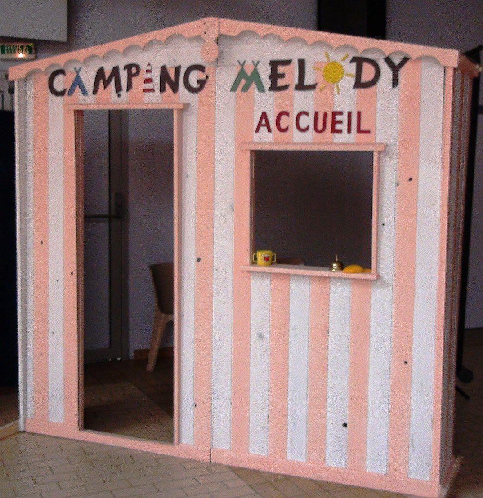 accueil-camping associations dans Musique