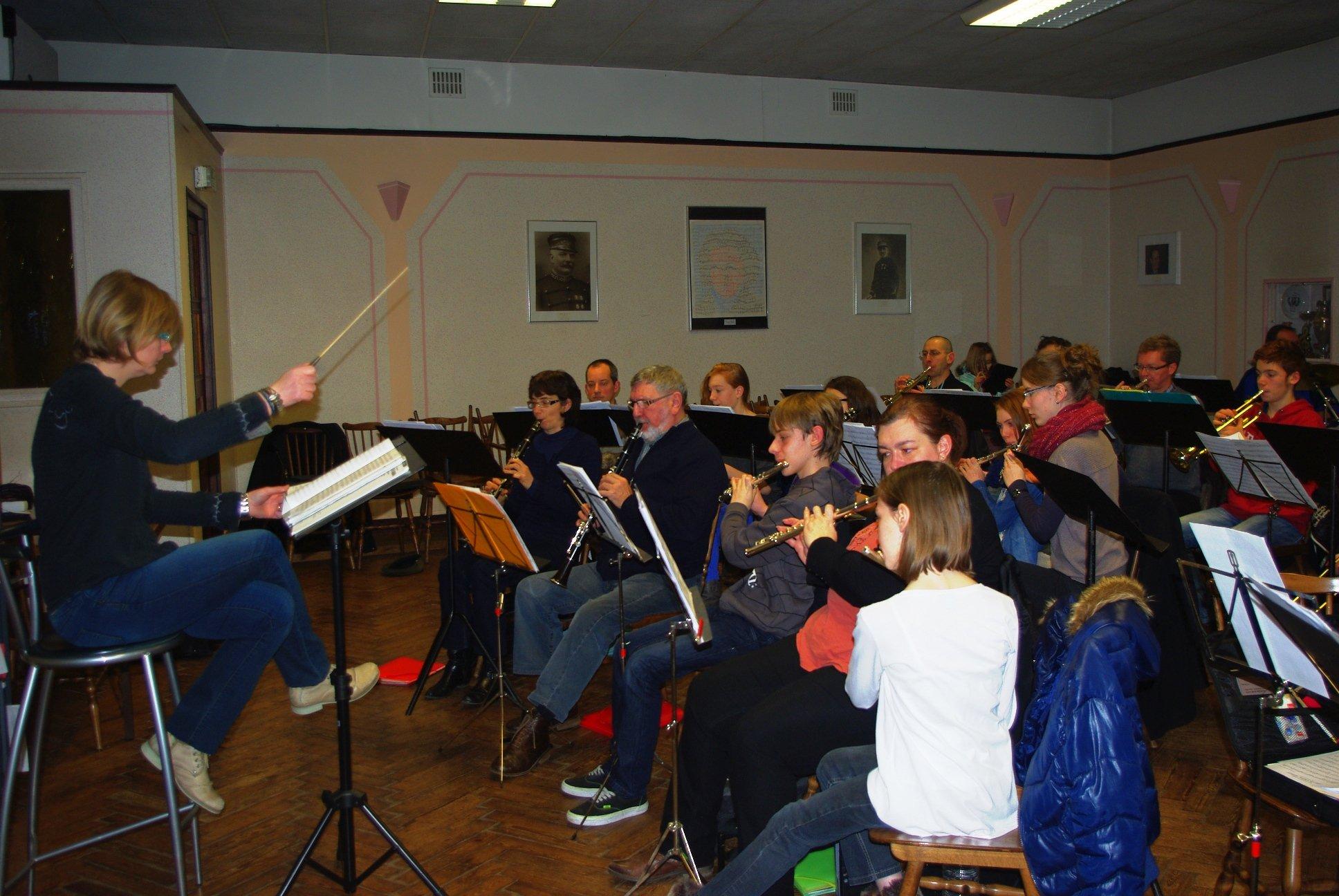 répétition harmonie beuvry 1er février 2014