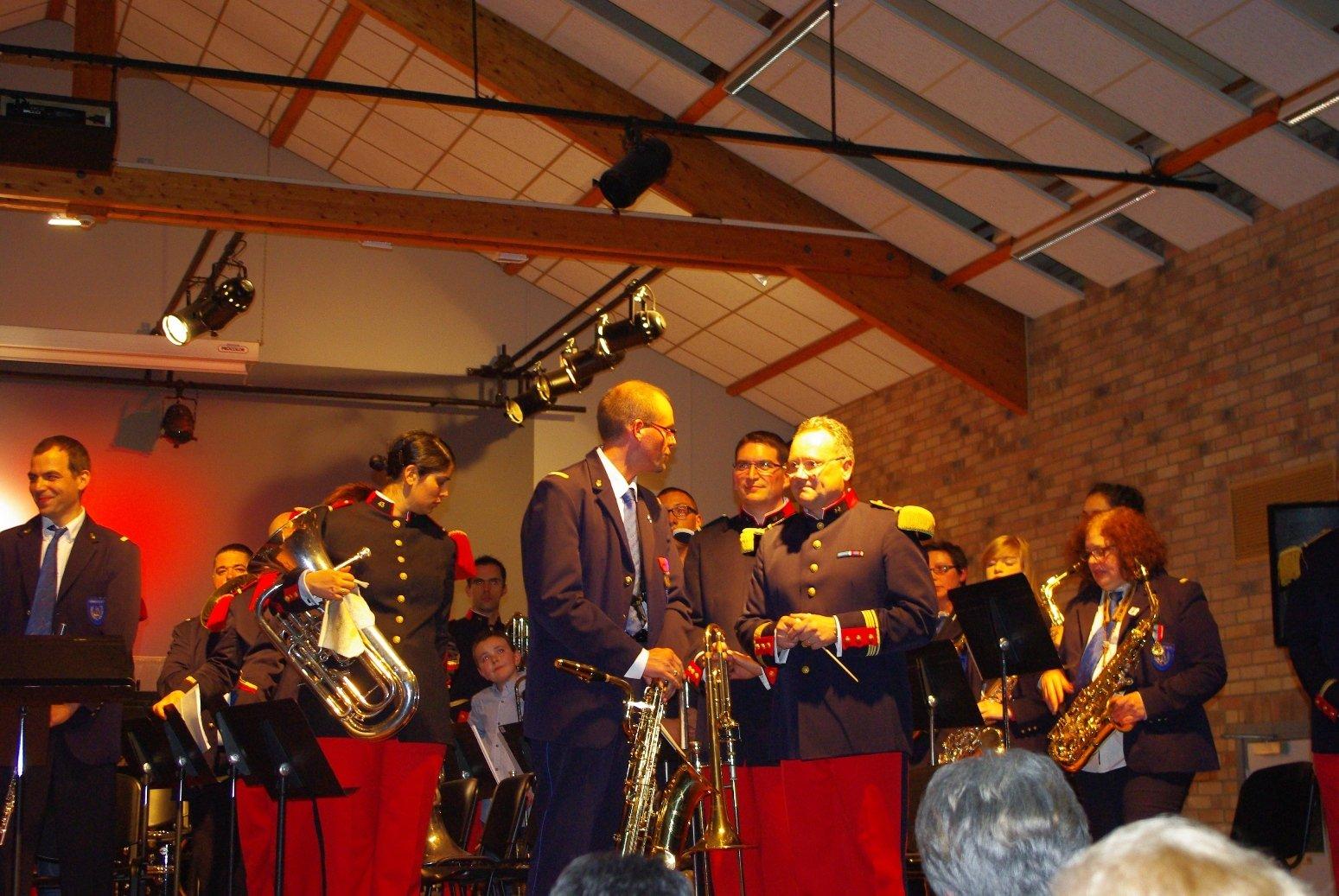 concert du 43e à Beuvry