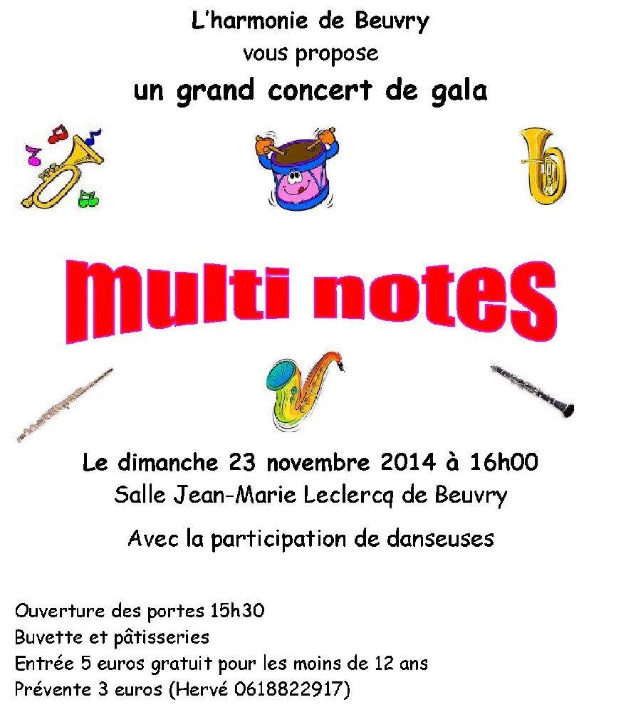 Un grand concert de gala pour les 160 ans de l'Harmonie de Beuvry dans Festivités concert-harmonie-novembre-2014