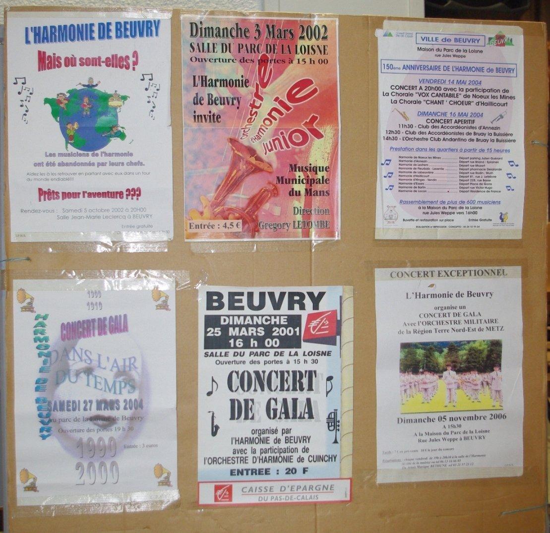 harmonie de Beuvry salle des fetes