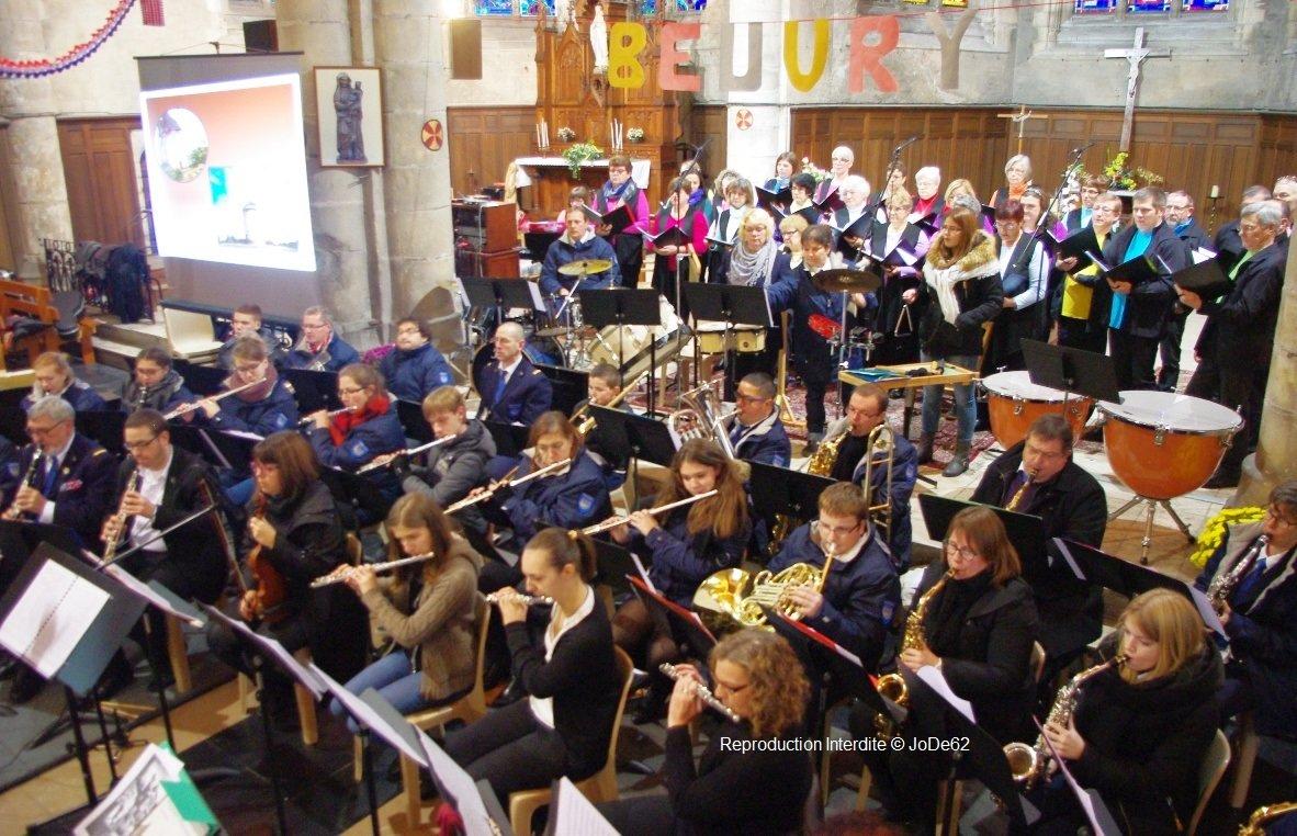 Concert sainte Cécile 2015 Beuvry