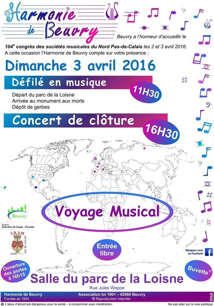 Concert gratuit de l'Harmonie de Beuvry dans Festivités affiche-3-avril-internet