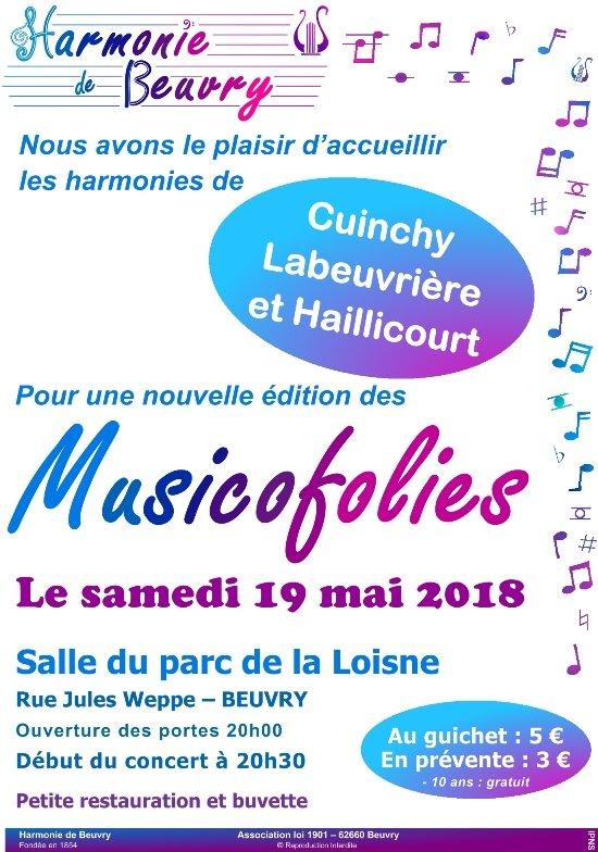 Concert à ne pas manquer le 19 mai 2018 à Beuvry dans Festivités affiche-musicofolies-2018-internet1