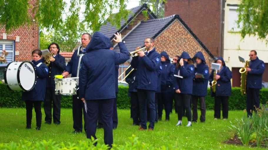 cérémonie 8 mai 2019 harmonie beuvry